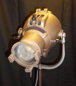 Vintage 'Strand Electric Patt 23' Theatre Light (Baby Spot), British c.1950