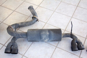 Perrin Subaru WRX STI Hatchback Cat back exhaust