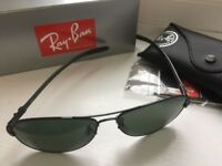 FOR SALE: RAY-BAN RB 8301 PILOT-STYLE SUNGLASSES