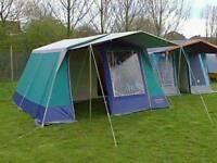 Sunncamp Chateau 6 man frame tent