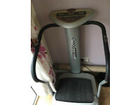 crazyfit vibration plate BARGAIN!!