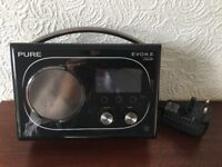 Pure Evoke Flow RDS, AM/FM, DAB, WiFi Radio with ChargePAK E1 Rechargeable Battery