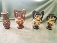 Selection of small vases