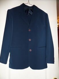 Navy Blue Page Boy Suit