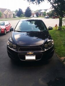 2014 chevy sonic!!! Almost new