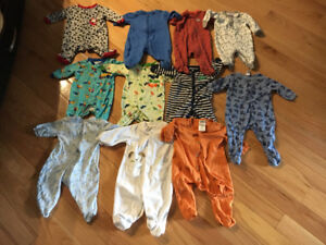 Baby boy 3 months clothing LOT