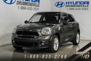 MINI Cooper S Paceman 2014 + ALL4 + CUIR + TOIT PANO + BLUETOOTH