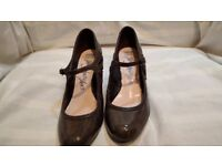 Dark Marks & Spencer Wide fit Womens Shoes size 5.5