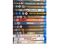 15 Brand New Sealed Blu rays. Top titles
