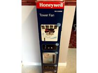 New in box Honeywell Oscillating Tower Fan with Remote Control.