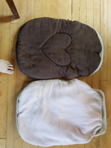 Bundle me car seat covers.
