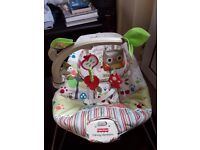 Fisher Price, Baby bouncer seat. £20 Used twice. Fully working as you would expect.