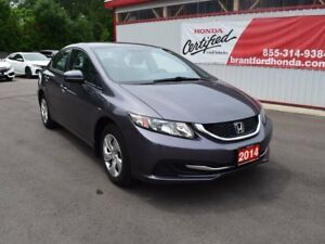 2014 Honda Civic LX 4dr Sedan