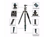 BRAND NEW Bonfoto B674C Traveler Carbon Fiber tripod RRP£109.99 ON AMAZON