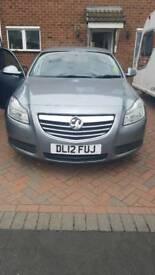 Vauxhall insignia 2012