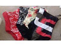 Ladies swimming costumes 18/20