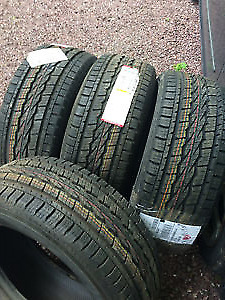 four new 265-60-18 tires