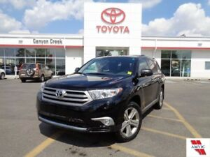 2013 Toyota Highlander AWD V6 Limited FULLY LOADED REMOTE STARTE