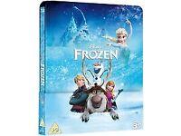 Frozen 3d & 2d blu-ray steelbook brand new & sealed