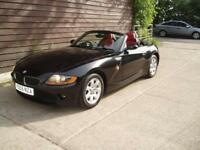 CABRIOLET BMW Z4 2.0i SE ROADSTER DEC 2005,RED LEATHER AIR CON F/S/HISTORY