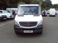 Mercedes-Benz Sprinter 313 CDI LWB 3.5t Dropside DIESEL MANUAL WHITE (2016)