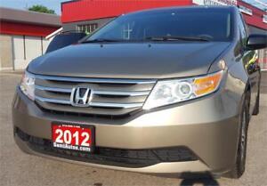 2012 Honda Odyssey EX  8 PASS DVD B.T 2 YEARS WARRANTY