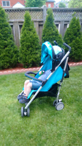 Baby Stroller/ sitting and laying positions.