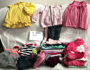 Girls' Clothing, 12 M and 1 Yr