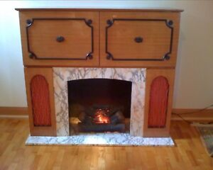 Koronette Fireplace / Stereo / Bar