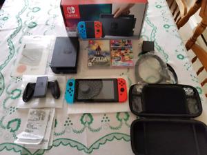 Nintendo Switch (Basically new)