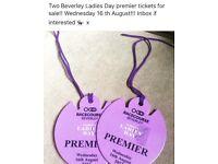 Ladies Day premier tickets