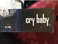 Cry Baby Wah Wah guitar pedal