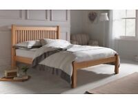 Brand New Kingsize Solid Wood Shaker Bed Frame