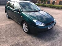 ford focus 2002 02 plate 1.4 petrol hatchback moted alloy wheels