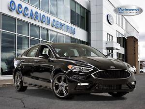 2017 Ford Fusion V6 SPORT AWD 335HP+TOIT+CAMÉRA