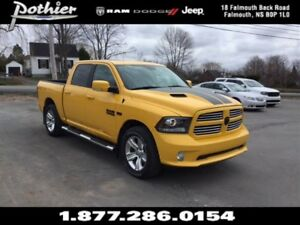 2016 Ram 1500 Sport | CLOTH | REAR CAMERA | HEATED SEATS | UCONN