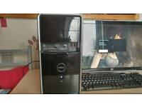 Dell gaming starter PC. Win10. Intel Quad core. 450g HD. Gtx650Ti. 4g ram
