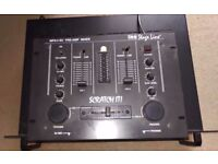 Stage Line MPX-4 Sc Pre-Amp scratch it DJ Mixer