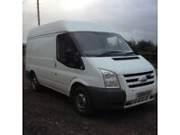 Ford transit t260 swb medium roof 2008