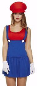 MARION FANCY DRESS OUTFIT SIZE 8/10 SMALL FAULT 1 OF THE STRAPS IS TWISTED PARTY OR HEN DO