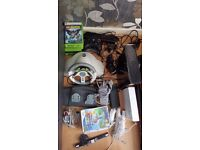 Nintendo Wii & Xbox 360 Bundle With Games, Controllers, Accessories & All Wires - Full Working Order