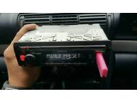 Kenwood car stereo like new condition! Tuner Usb aux and sd card!Can deliver or post!