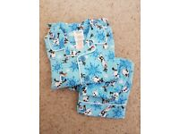 Girls frozen pyjamas. Age 4. New but no tags
