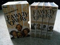Fawlty Towers complete TV series - VHS tape - John Cleese