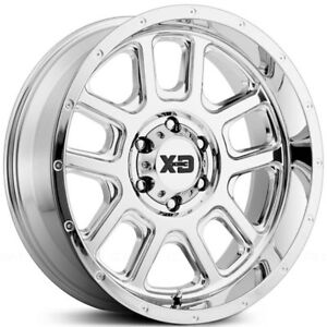 "20"" Chrome Wheel Set XD Series Ford F150 6x135 Rim F-150 Wheels"