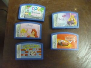 Leapster Leap Pad tapes/Learning games (French)