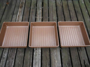 2 sets of Airstream bins for under bed and front couch