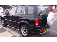 Suzuki Grand Vitara in Jet Black and in excellent condition with Service History
