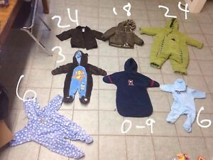 Bunch of winter and fall suits