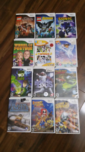Wii games 3 for $10